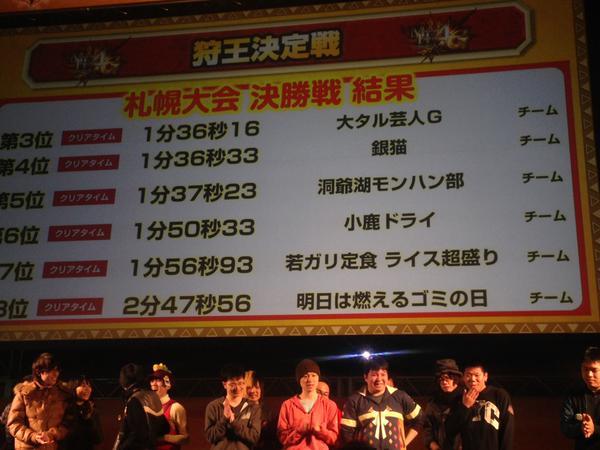 札幌狩王決勝2