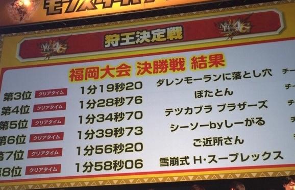 福岡狩王決勝2