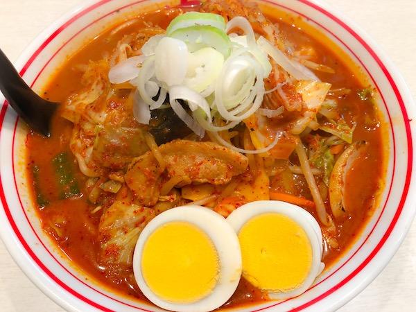 五目味噌タンメン長沢
