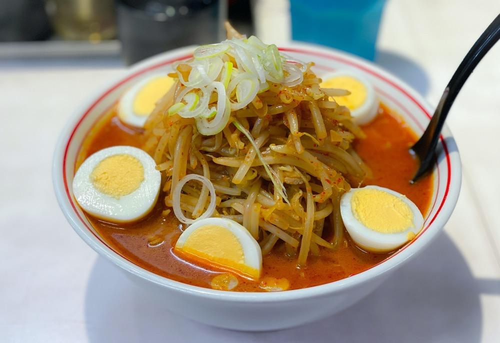 味噌卵麺のコピー